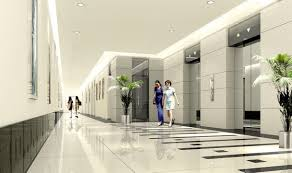 modern lobby floor design in lobby with material decobizz com