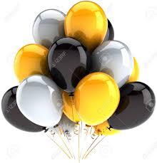 balloons birthday celebration decoration multicolor