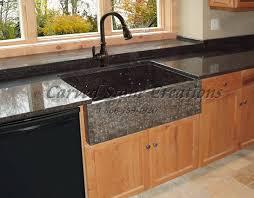 Granite Kitchen Sinks Apron Front Granite Sink Kitchen Sinks Pinterest Farmhouse
