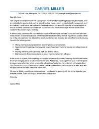 hospital cover letter format