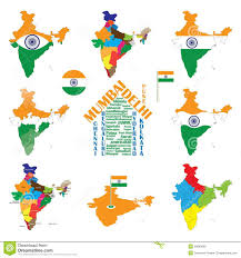 Map Of India Cities India Map And Cities Stock Images Image 15975414