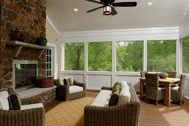 Screen Porch Fireplace by Side Screen Porch 04 26 13 00 26 Multiple Porches Create