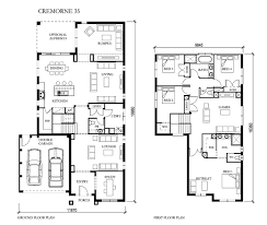 metricon home floor plans cremorne 35mk2 from eden brae homes