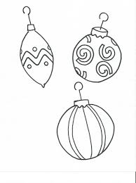 christmas orniment coloring pages coloring pages kids