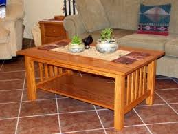 Craftsman Coffee Table Craftsman Style Coffee Table U2013 Done U2013 Ravenview Within Stylish In