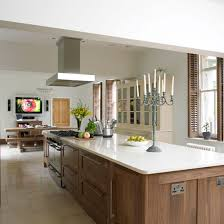 take a tour of this glamorous walnut kitchen ideal home