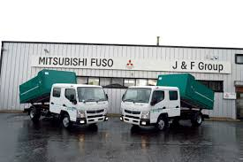 mitsubishi fuso 2 x new mitsubishi fuso 3c130 3 5 ton crew cab tippers supplied
