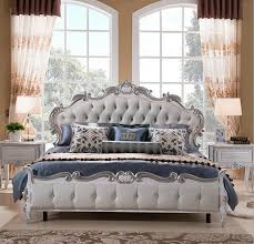 2018 factory price royal bed fashion european french carved bed