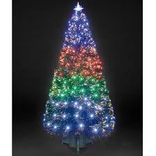 colour changing fibre optic christmas tree christmas lights