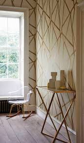 sumi a contemporary brushed geometric wallpaper in neutral and
