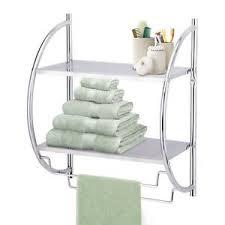 chrome bathroom shelf home furniture u0026 diy ebay
