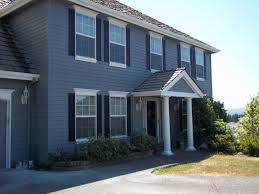 Blue Gray House Color by Blue Exterior Paint Colors Picking An Exterior Paint Color Young