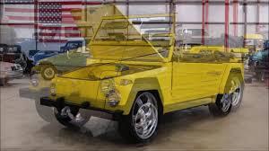classic volkswagen thing 1973 volkswagen thing yellow youtube