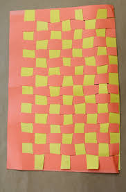 weave paper thanksgiving placemats activity education