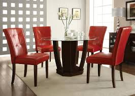 cheap red dining table and chairs glass table and chair sets hangrofficial com