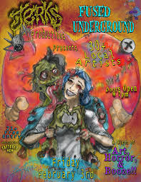 jerks productions fused underground showcase tattooed mom