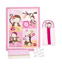 Crib Bedding Sets Girls by Monkey Crib Bedding