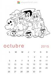 imagenes calendario octubre 2015 para imprimir calendarios octubre 2015 para descargar imprimir y pintar