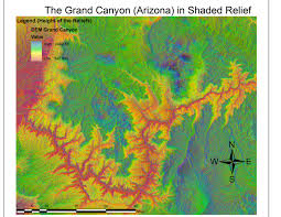 Arizona Elevation Map by Gis From Introduction To Advanced Tools Of Arcgis 6 Week 7
