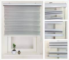 Colored Blinds Black And White Striped Roller Blind Black And White Striped