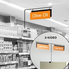 aisle markers store aisle signs for retail shelves aisle markers store signage