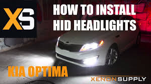 2013 kia optima led fog light bulb kia optima how to install hid xenon w wiring harness 2011