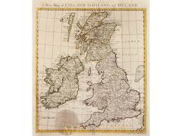 Map Of Scotland And England by A New Map Of England U0026 Scotland U0026 Ierland By Scale M U0026m