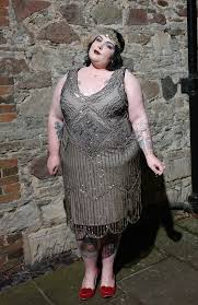 plus size flapper halloween costume with gatsbylady she