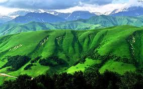 desktop green scenery mountain landscape hd with wallpaper free
