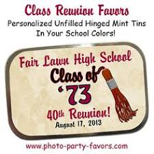 favors for class reunions class reunion favors key chains featuring a picture of your