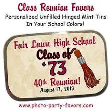 favors for class reunions class reunion favors class reunion bags by abbeyandizziedesigns