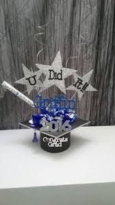 graduation cap centerpieces centerpieces all from hobby lobby clay pot wooden board