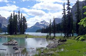 Vermont National Parks images Jasper national park photo view from the maligne lodge dh jpg