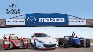 mazda north american operations mazda wins autoweek 2017 constructor award
