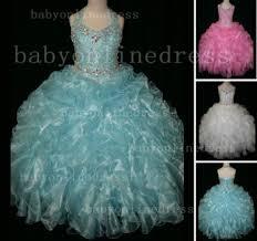 cheap pageant dresses for girls newborn beauty beaded rhinestone