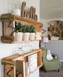 Wooden Wall Shelves Designs by Best 25 Crates On Wall Ideas On Pinterest Nautical Theme