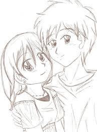 anime couples sketches couple sketch appliedalgebra on deviantart