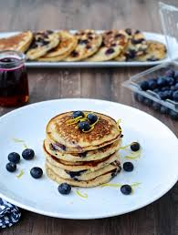 dining with the doc lemon ricotta blueberry pancakes the foodie
