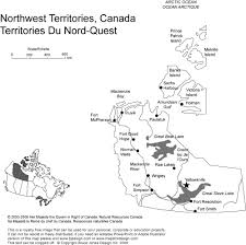 Map Of Canada Provinces Blank Map Of Canada With Capital Cities You Can See A Map Of