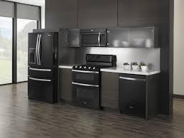 black kitchen appliances ideas fancy black appliances kitchen ideas on single line layout f from