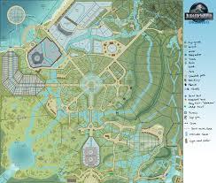 Map Of Orlando Jurassic Map Of The World Timekeeperwatches