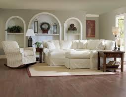 Slipcovered Sectional Sofa by Furniture Marvelous Entrancing Laminate Flooring Livingroom Plus