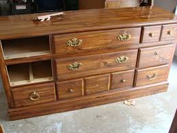 Metal Dressers Bedroom Furniture Bedroom Extraordinary Image Of Vintage 5 Drawer Cherry Wood