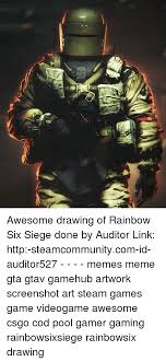 http siege awesome drawing of rainbow six siege done by auditor link http