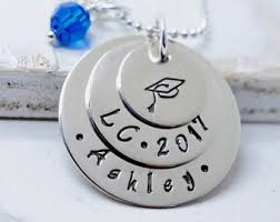 high school class necklaces personalized graduation necklace senior necklace class of