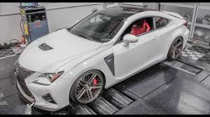 lexus rcf white lexus rc f 650hp nitrous powered rcf dyno 2017 youtube