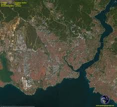 Map Of Istanbul Spot 6 Satellite Image Of Istanbul Turkey Satellite Imaging Corp