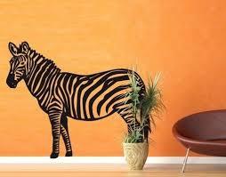 klebefieber kinderzimmer wandtattoo zebra wandgestaltung wandtattoo klebefieber