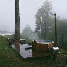 Chofu Wood Stove by Wood Fired Outdoor Tub Requires No Electricity Or Chemicals