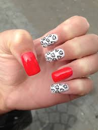 fun acrylic nail design nails pinterest acrylic nail designs